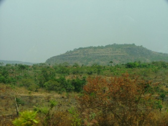 A glimpse of the gorgeous views seen driving through the Fouta Djallon region of Guinea.