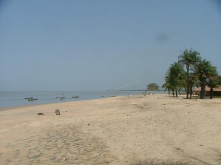 The beach in Koba.