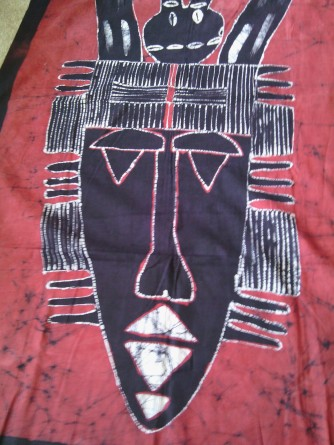 Traditional mask of Boké, $100