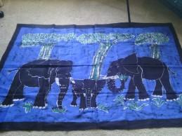 Elephant scene, $150