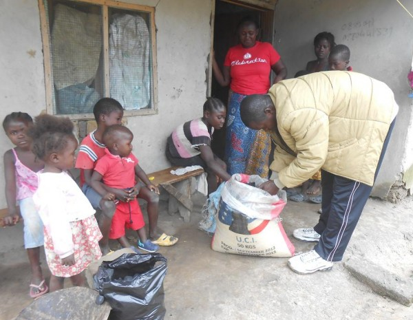 Through its longstanding relationship with Women's Campaign Internation, some of the recent donations from the Friends of Liberia have been used to provide relief supplies to quarantined families in Nimba County in north-central Liberia.